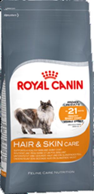 Корм сухой Royal Canin Hair & Skin, для взрослых кошек с чувствительной кожей и поврежденной шерстью, 10 кг445100Сухой корм Royal Canin Hair & Skin - это полнорационный сбалансированный корм для кошек с чувствительной кожей и поврежденной шерстью. Признаком недостатка незаменимых жирных кислот (Омега 3 и 6) является тусклая и сухая шерсть; возможно также появление перхоти. Шерсть отражает состояние здоровья кошки. Любые изменения ее блеска, окраса, густоты могут оказаться тревожным признаком! Недостаток определенных аминокислот может привести к выпадению шерсти, ее замедленному росту, ломкости, потере блеска и даже к изменению окраса. Hair & Skin - тщательно сбалансированная формула, помогающая поддерживать здоровье кожи и шерсти. Продукт содержит: - Уникальную комбинацию питательных веществ, в том числе эксклюзивный комплекс аминокислот и витаминов B, для поддержания барьерной функции кожи. - Легкоусвояемые белки (L.I.P), жирные кислоты Омега 3 и 6, известные своим благоприятным воздействием на состояние шерсти и кожи. ДОКАЗАННАЯ...