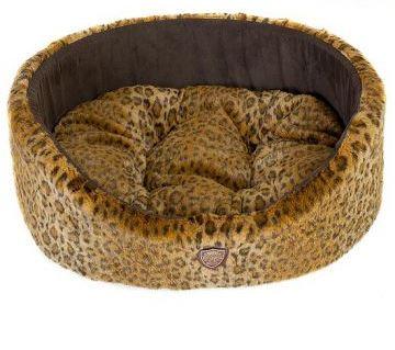 Лежак для животных Happy Puppy Саванна, цвет: коричневый, бежевый, 50 х 45 х 18 смHP-150006Лежак для животных Happy Puppy Саванна прекрасно подойдет для отдыха вашего домашнего питомца. Предназначен для кошек, а так же собак мелких и средних пород. Изделие выполнено из прочной ткани. Снабжено высокими широкими бортиками и съемной мягкой подушкой. Комфортный и уютный лежак обязательно понравится вашему питомцу, животное сможет там отдохнуть и выспаться. Размер лежака: 50 х 45 х 18 см. Состав: искусственный мех, шерсть, эластан, поролон, холлофайбер.