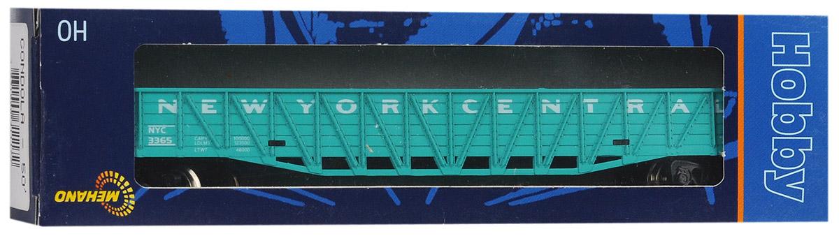Mehano Гондола железнодорожная New York CentralT073Железнодорожная гондола Mehano New York Central выполнен на высочайшем уровне с мелкими деталями и в точной раскраске железной дороги определенного периода времени. Корпус модели бункерного вагона выполнен из пластика, колеса выполнены из металла. Модель высоко детализирована и окрашена в соответствии со своим реальным прототипом. Вагон имеет два пластиковых крепления, благодаря которым вы сможете соединить вагончики в железнодорожный состав. Коллекционная модель станет не только интересной игрушкой для ребенка, интересующегося поездами, но и займет достойное место в любой коллекции. Модель совместима с железными дорогами и поездами Mehano. Оставаясь одной из наиболее желанных игрушек для большинства мальчишек и даже взрослых коллекционеров, железная дорога Mehano с дистанционным управлением неподвластна влиянию моды и времени. Для сторонников технологических новинок создаются модели современных скоростных составов, а ценители истории могут выбрать подходящий...