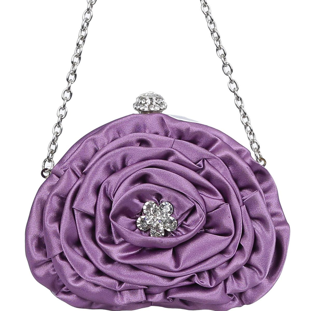 Клатч Fabretti, цвет: фиолетовый. 5410-5
