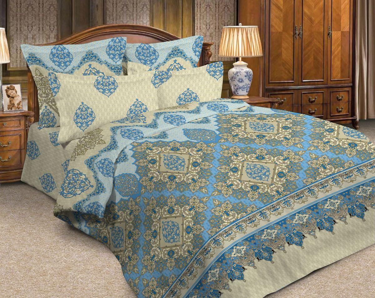 Комплект белья Диана La Vanille, 2-спальный, наволочки 70х70, цвет: молочный, голубой, зеленый. С-664-175-180-70С-664-175-180-70Комплект постельного белья Диана La Vanille состоит из пододеяльника, простыни и двух наволочек. Белье бесшовное, оформлено оригинальным узором и имеет изысканный внешний вид. Изготовлено из бязи люкс (100% хлопка). Бязь - это ткань из экологически чистого и натурального 100% хлопка. Неоспоримым плюсом белья из такой ткани является мягкость и легкость, она прекрасно пропускает воздух, приятна на ощупь, не образует катышков на поверхности и за ней легко ухаживать. При соблюдении рекомендаций по уходу это белье выдерживает много стирок, не линяет и не теряет свою первоначальную прочность. Уникальная ткань обеспечивает легкую глажку. Приобретая комплект постельного белья Диана La Vanille, вы можете быть уверенны в том, что покупка доставит вам и вашим близким удовольствие и подарит максимальный комфорт.