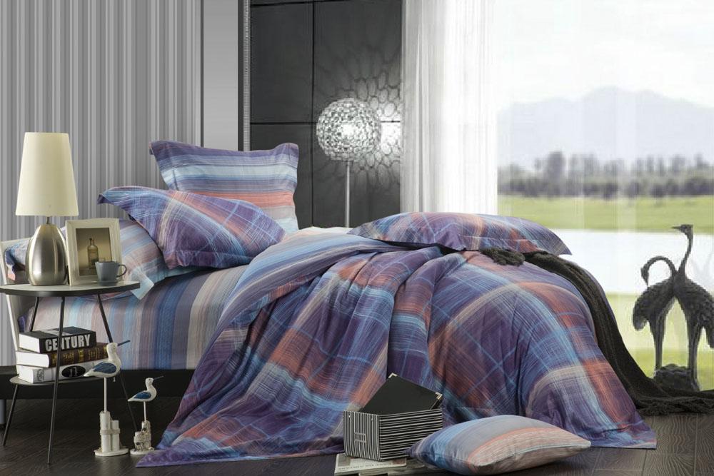 Комплект белья Диана La Vanille, дуэт, наволочки 70х70, цвет: синий, голубой, розовый. С-571-143-240-70С-571-143-240-70Комплект постельного белья Диана La Vanille состоит из двух пододеяльников, простыни и двух наволочек. Постельное белье оформлено оригинальным узором и имеет изысканный внешний вид. Белье изготовлено бязи (100% хлопка). Бязь - это ткань из экологически чистого и натурального 100% хлопка. Неоспоримым плюсом белья из такой ткани является мягкость и легкость, она прекрасно пропускает воздух, приятна на ощупь, не образует катышков на поверхности и за ней легко ухаживать. При соблюдении рекомендаций по уходу, это белье выдерживает много стирок, не линяет и не теряет свою первоначальную прочность. Уникальная ткань обеспечивает легкую глажку. Приобретая комплект постельного белья Диана La Vanille, вы можете быть уверенны в том, что покупка доставит вам и вашим близким удовольствие и подарит максимальный комфорт.