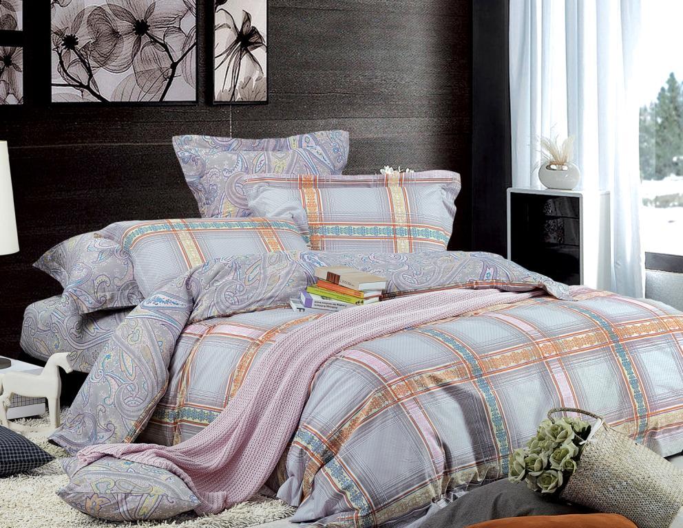 Комплект белья Диана La Vanille, 1,5-спальный, наволочки 70х70, цвет: серый, бежевый. С-597-143-150-70С-597-143-150-70Комплект постельного белья Диана La Vanille состоит из пододеяльника, простыни и двух наволочек. Белье бесшовное, оформлено оригинальным принтом в клетку и имеет изысканный внешний вид. Изготовлено из бязи люкс (100% хлопка). Бязь - это ткань из экологически чистого и натурального 100% хлопка. Неоспоримым плюсом белья из такой ткани является мягкость и легкость, она прекрасно пропускает воздух, приятна на ощупь, не образует катышков на поверхности и за ней легко ухаживать. При соблюдении рекомендаций по уходу это белье выдерживает много стирок, не линяет и не теряет свою первоначальную прочность. Уникальная ткань обеспечивает легкую глажку. Приобретая комплект постельного белья Диана La Vanille, вы можете быть уверенны в том, что покупка доставит вам и вашим близким удовольствие и подарит максимальный комфорт.