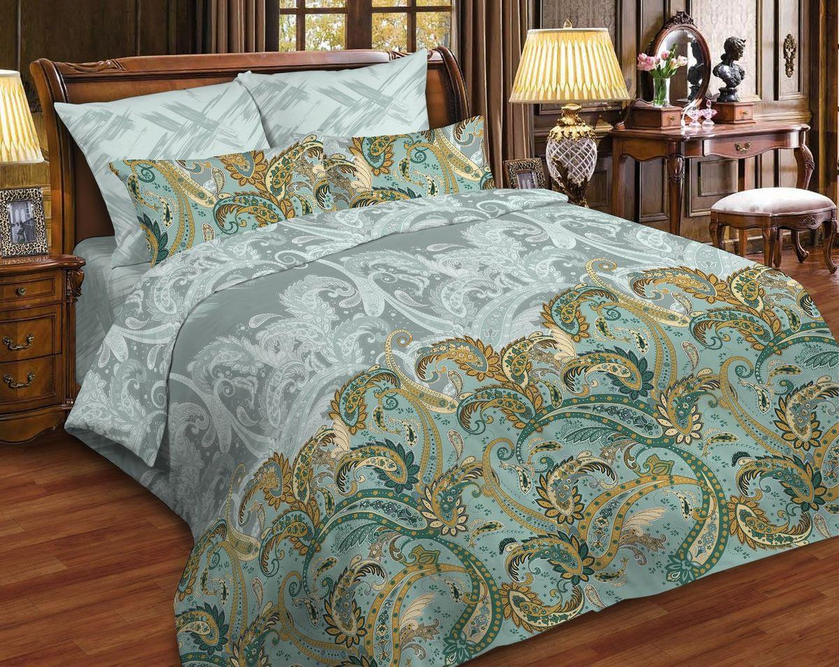 Комплект белья Диана La Vanille, 1,5-спальный, наволочки 70х70, цвет: светло-коричневый, серый, зеленый. С-663/2-143-150-70С-663/2-143-150-70Комплект постельного белья Диана La Vanille состоит из пододеяльника, простыни и двух наволочек. Белье бесшовное, оформлено оригинальным узором и имеет изысканный внешний вид. Изготовлено из бязи люкс (100% хлопка). Бязь - это ткань из экологически чистого и натурального 100% хлопка. Неоспоримым плюсом белья из такой ткани является мягкость и легкость, она прекрасно пропускает воздух, приятна на ощупь, не образует катышков на поверхности и за ней легко ухаживать. При соблюдении рекомендаций по уходу это белье выдерживает много стирок, не линяет и не теряет свою первоначальную прочность. Уникальная ткань обеспечивает легкую глажку. Приобретая комплект постельного белья Диана La Vanille, вы можете быть уверенны в том, что покупка доставит вам и вашим близким удовольствие и подарит максимальный комфорт.
