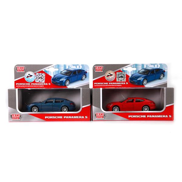 ТехноПарк Модель автомобиля Porsche Panamera S цвет красный67303_красныйУникальная точная копия настоящей машины. Модель инерционная с открывающими дверями станет отличным дополнением коллекции малыша.