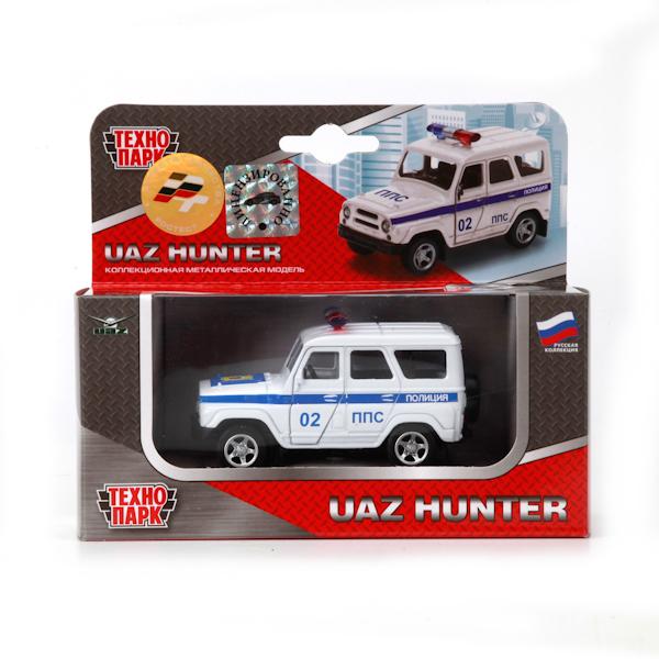 ТехноПарк Машинка инерционная УАЗ HunterX600-H09018-RИнерционная модель с открывающими дверями понравиться Вашему малышу. Играть с ней просто уовольствие, а так же машинка может войти в коллекцию мальчика.