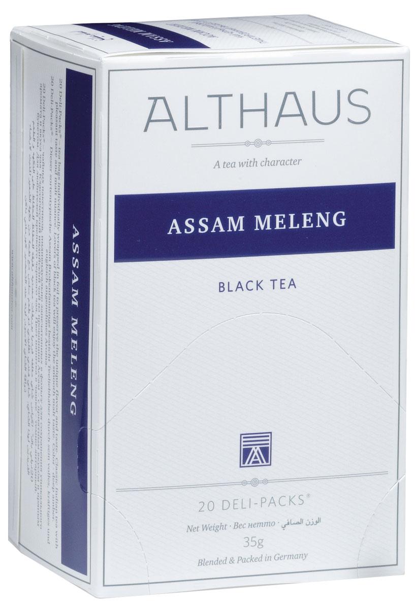 Althaus Assam Meleng чай черный в пакетиках, 20 шт TALTHB-DP0015