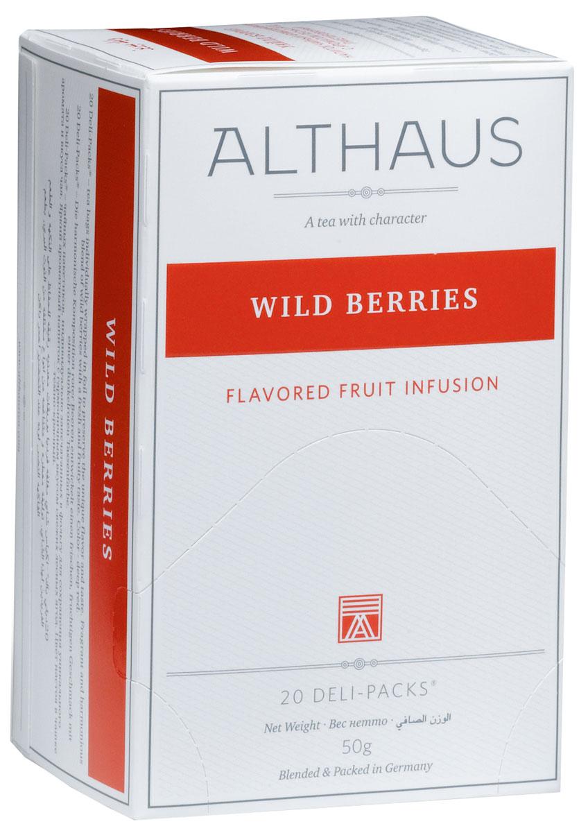 Althaus Wild Berries чай фруктовый в пакетиках, 20 шт TALTHB-DP0025