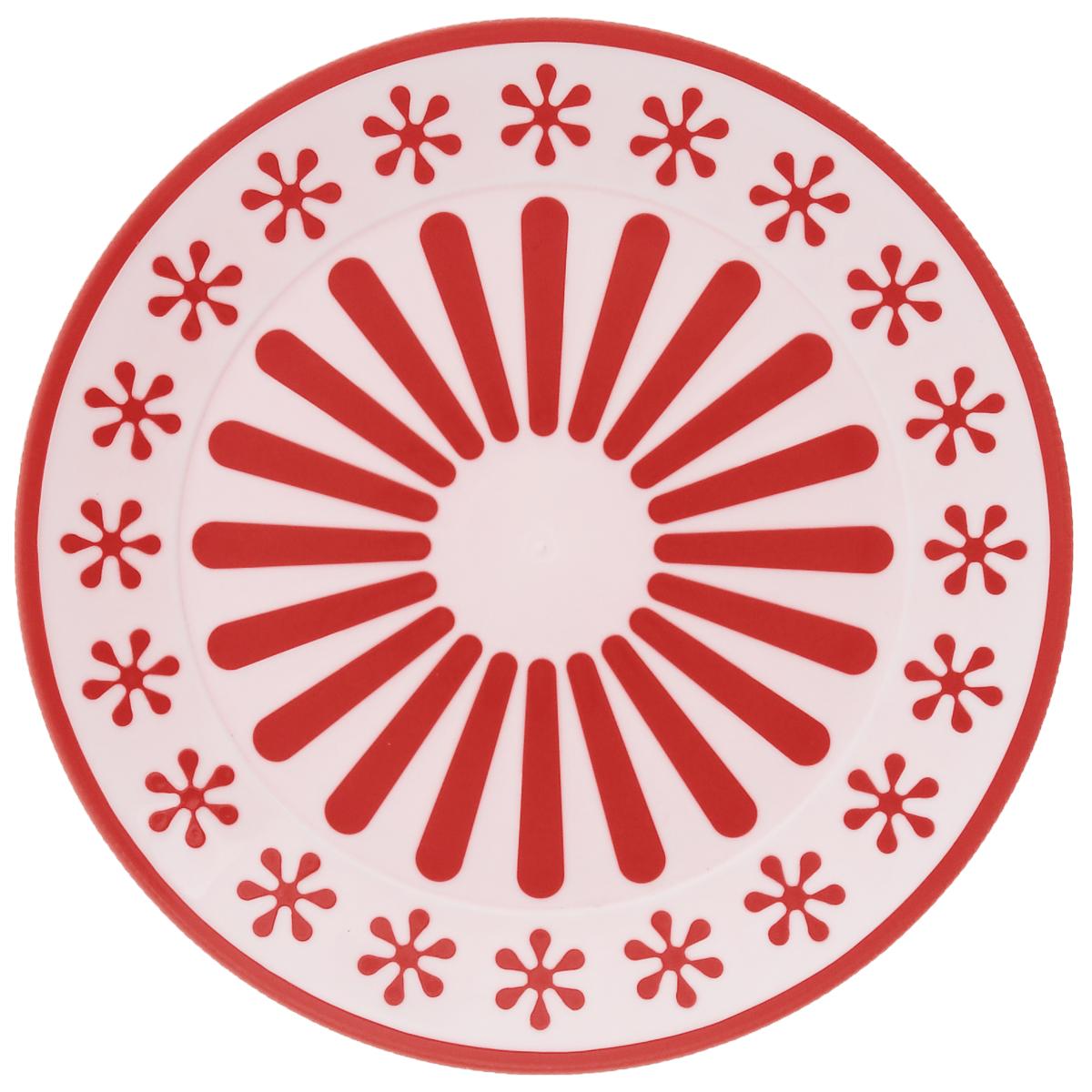 Тарелка Альтернатива Валенсия, диаметр 19 смM4887Круглая тарелка Альтернатива Валенсия, изготовленная из высококачественного пластика, оформлена оригинальным и ярким рисунком. Изделие подходит для повседневного пользования. Диаметр тарелки: 19 см. Высота тарелки: 1,7 см.