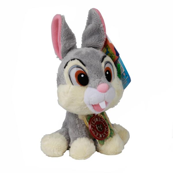 Мульти-Пульти Мягкая игрушка Disney Заяц топотунV39013/18Чудесный заяц, дизайн которой был разработан в студии Дисней. У него добрая улыбка и улыбчивые глаза. Ушастик очень ловкий! Он учит детей заботе и бережному отношению к животным, ведь такого милого кроху просто невозможно обидеть! Игрушка сделана из качественных материалов, поэтому будет радовать вашего малыша максимально долгий скрок. Озвученая.