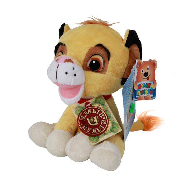 Мульти-Пульти Мягкая игрушка Disney Львенок СимбаV39083/16Львенок Симба, дизайн которой был разработан в студии Дисней. У него добрая улыбка и улыбчивые глаза. Он учит детей заботе и бережному отношению к животным, ведь такого милого кроху просто невозможно обидеть! Игрушка сделана из качественных материалов, поэтому будет радовать вашего малыша максимально долгий скрок. Озвученая.