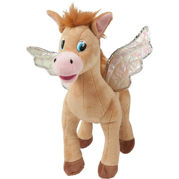 Мульти-Пульти Мягкая игрушка лошадка с крыльями, бежевая/коричневаяF9-W1224CС крылатой лошадкой можно отправиться в в полёт, путешествуя по горам и долам детского воображения. А еще она умеет произносить целых 8 фраз!