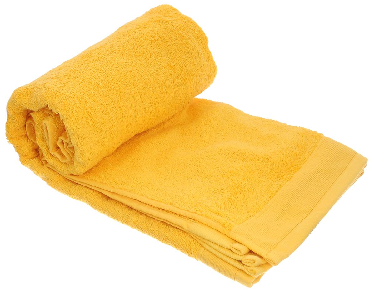Полотенце махровое Guten Morgen, цвет: желтый, 70 см х 140 смПМж-70-140Махровое полотенце Guten Morgen, изготовленное из натурального хлопка, прекрасно впитывает влагу и быстро сохнет. Высокая плотность ткани делает полотенце мягкими, прочными и пушистыми. При соблюдении рекомендаций по уходу изделие сохраняет яркость цвета и не теряет форму даже после многократных стирок. Махровое полотенце Guten Morgen станет достойным выбором для вас и приятным подарком для ваших близких. Мягкость и высокое качество материала, из которого изготовлено полотенце, не оставит вас равнодушными.