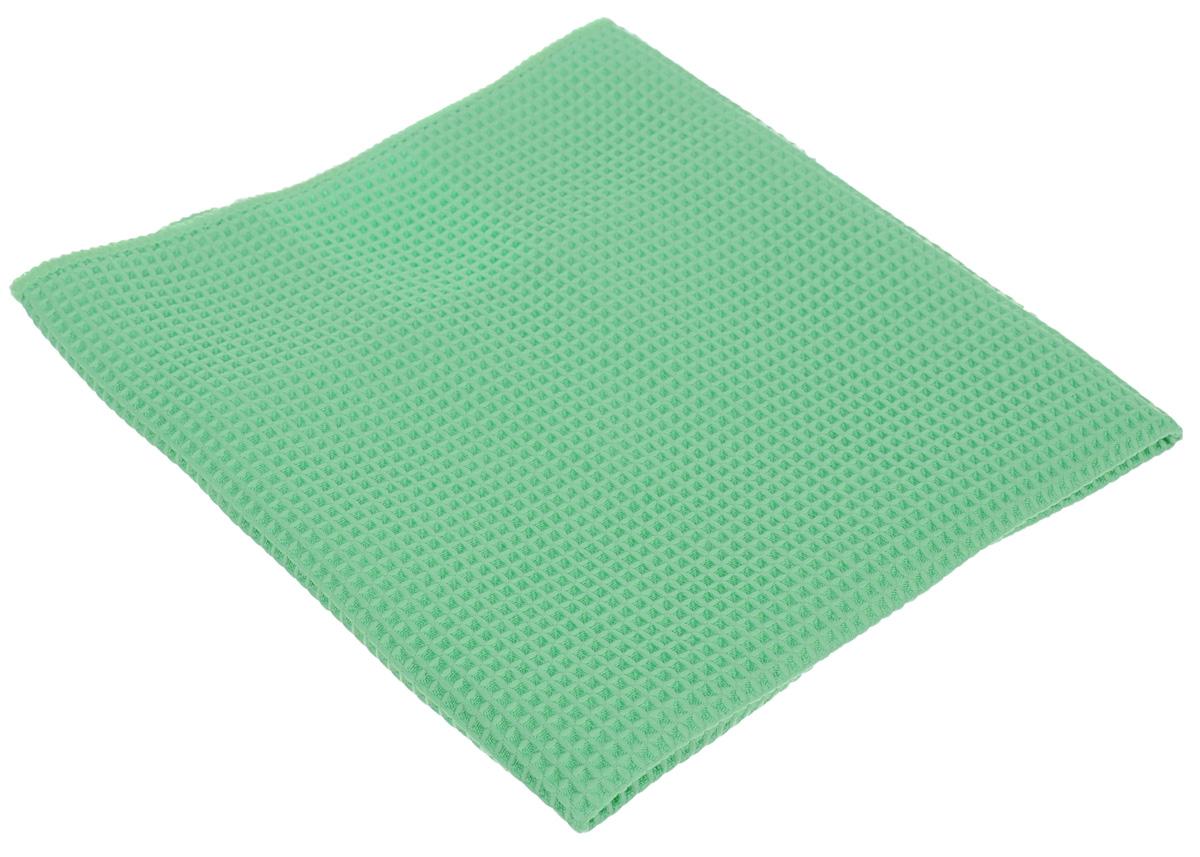 Салфетка для кухни Unicum Premium, цвет: зеленый, 40 х 40 см303217Салфетка Unicum Premium изготовлена по самым современным технологиям. Уникальные чистящие свойства салфетки - абсорбировать жир, грязь, пыль, никотин - обеспечивают специальные клиновидные микроволокна, которые в 100 раз меньше человеческого волоса. Салфетка обладает непревзойденной способностью быстро впитывать большой объем жидкости (в восемь раз больше собственной массы).