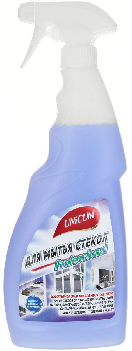 Средство для мытья стекол Unicum, 750 мл300407Средство Unicum высокоэффективное средство для мягкой очистки гладких и блестящих поверхностей - стекла, зеркал, пластика, кафеля, нержавеющей стали и других видов водостойких материалов и покрытий. Средство быстро удаляет следы от высохших капель воды, следы от рук, мягко очищает полимерные покрытия пластиковых окон, придает блеск и оставляет защитный нанослой, препятствующий налипанию пыли. Состав: вода деминерализованная, менее 5% АПАВ, 5-15% растворители, менее 5% функциональная добавка, менее 5% ароматизатор, менее 5% краситель, менее 5% консервант. Товар сертифицирован.