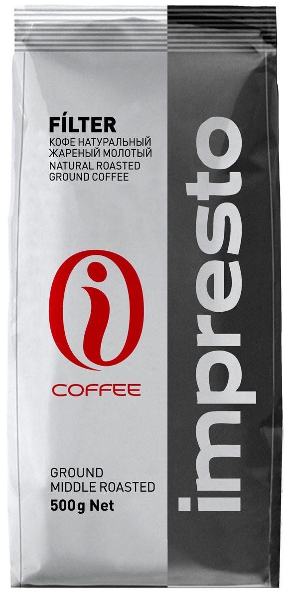 Impresto Filter кофе молотый, 500 г CIMPCH-000005