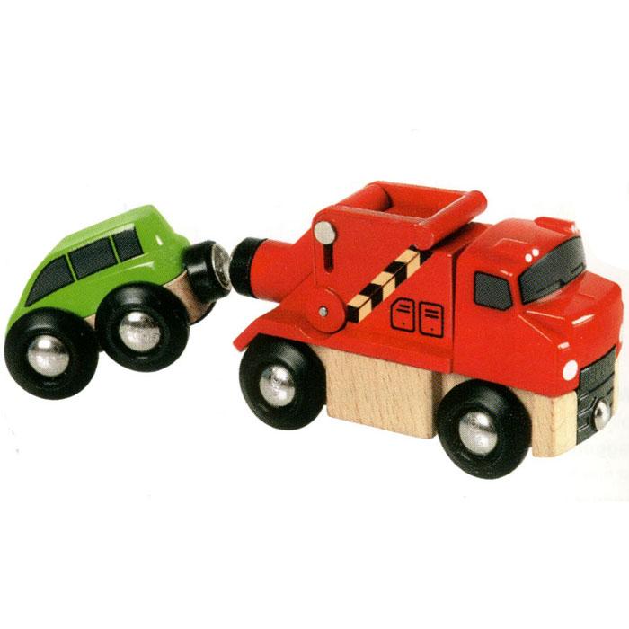 Brio Автобуксир с машинкой 33528