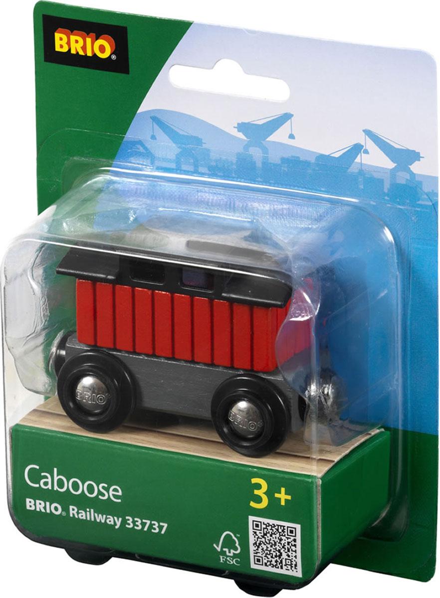 Brio Тормозной вагон поезда33737Вашему ребенку обязательно пригодится в игре с железной дорогой Brio Тормозной вагон поезда. Вагон изготовлен из пластика, металла и дерева. По краям вагона имеются магнитные вставки, с помощью которых вагончики соединяются с паровозом, или друг с другом. С этим элементом ребенок может значительно разнообразить игры с железной дорогой. Вагон совместим со всеми железными дорогами и паровозиками Brio. Железные дороги позволяют ребенку не только получать удовольствие от игры, но и развивать пространственное воображение, мелкую моторику и координацию движений.