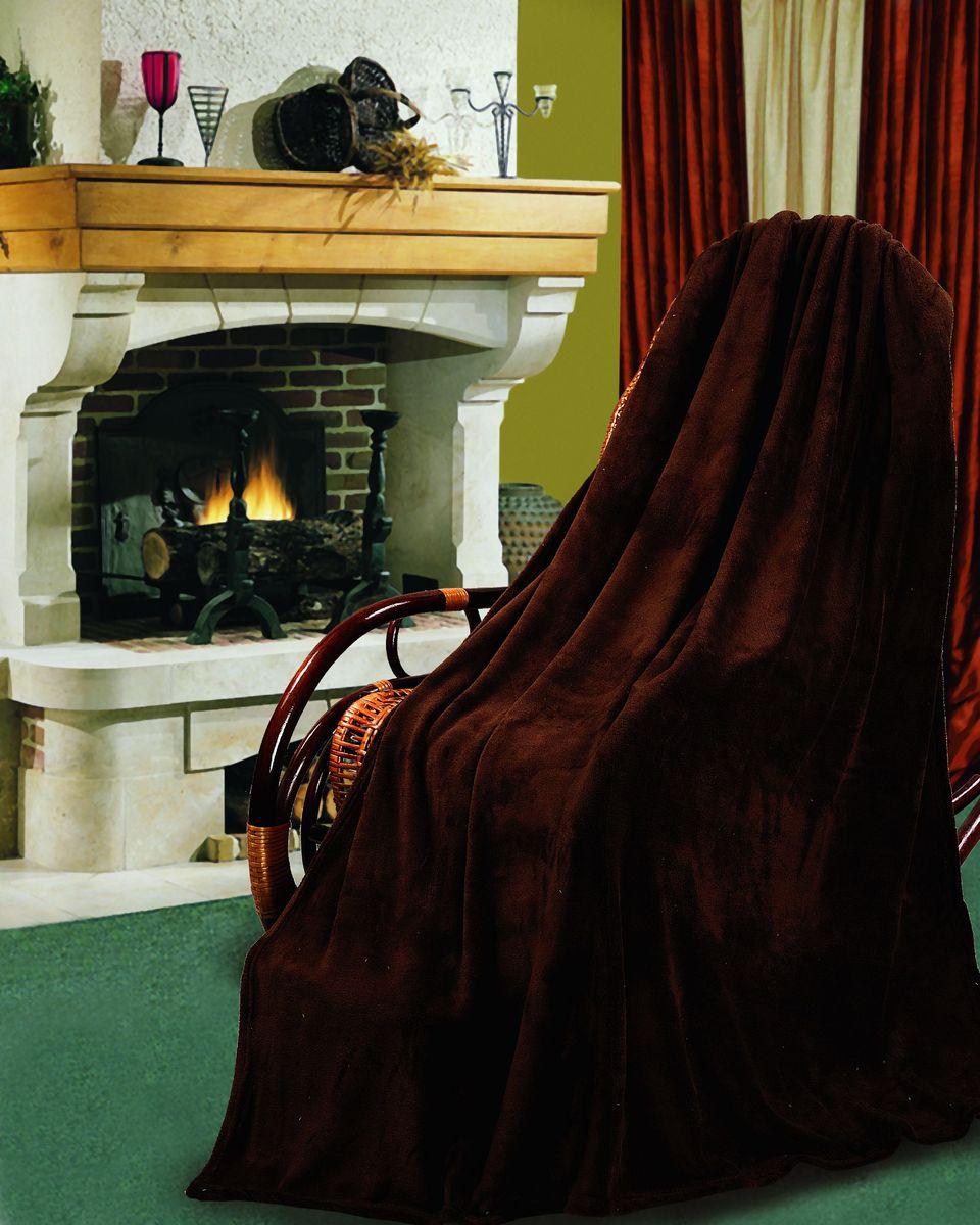 Покрывало флисовое Диана, цвет: шоколад, 150 см х 200 смПФКОР-150-200Изящное покрывало Диана, выполненное из корал флиса (100% полиэстер), гармонично впишется в интерьер вашего дома и создаст атмосферу уюта и комфорта. Корал флис имеет фактуру велюра, ткань приятная на ощупь, мягкая и слегка пушистая, но при этом очень легкая, хорошо сохраняет тепло, устойчива к стирке и износу. Такое покрывало согреет в прохладную погоду и будет превосходно дополнять интерьер вашей спальни. Высочайшее качество материала гарантирует безопасность не только взрослых, но и самых маленьких членов семьи. Покрывало может подчеркнуть любой стиль интерьера, задать ему нужный тон - от игривого до ностальгического. Покрывало - это такой подарок, который будет всегда актуален, особенно для ваших родных и близких, ведь вы дарите им частичку своего тепла!
