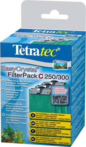 Фильтрующие картриджи с углем Tetra EC 250/300 C для внут.фильтров EasyCrystal 250/300 3 шт.151598TetraTec EC Filter pack С 250/300 набор картриджей с угольным наполнителем. Картриджи подходят для внутренних фильтров EasyCrystal®Filter 250, EasyCrystal® FilterBox 300. В комплекте 3 картриджа. Фильтрующие губки выполняют интенсивную очистку воды в аквариуме механическим, химическим и биологическим путями. •для кристально прозрачной, здоровой воды •инновационный фильтрующий картридж: аккуратная замена - руки остаются сухими •механическая очистка: двусторонняя фильтрующая губка для надёжного удаления мельчайших частичек грязи. •химическая фильтрация - специальный активированный уголь борется с загрязнением воды и неприятными запахами