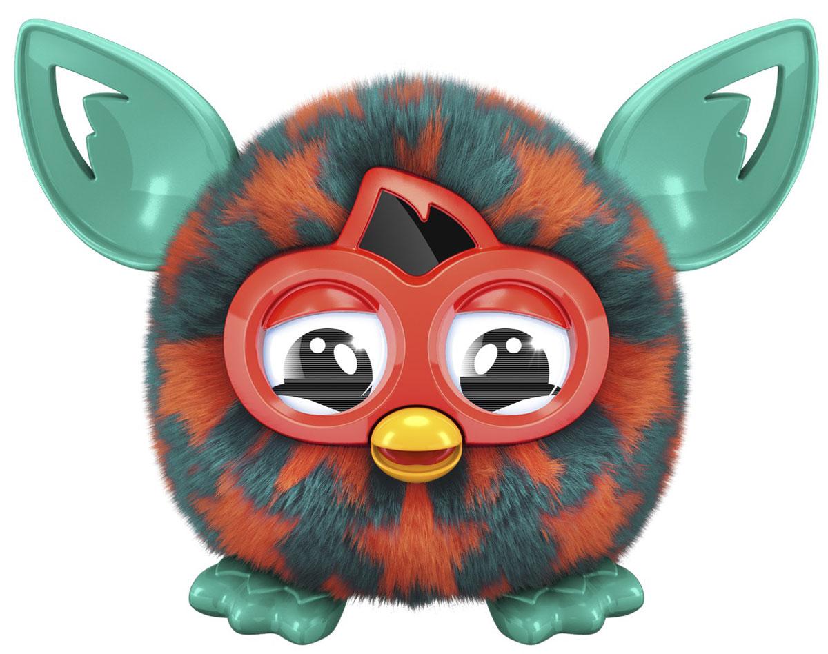 Furby Малыш Ферблинг цвет оранжевый зеленыйA6100_A7453_оранжевый, зеленыйИнтерактивная игрушка Furby Малыш Ферблинг станет отличным подарком и другом, как для детей, так и для взрослых. Ферблинги - это детишки больших Ферби из серии Furby Boom. Теперь вы сможете ухаживать за Ферблингом не только в приложении, но и в реальности. Этот малыш будет радовать окружающих и своих родителей - больших Ферби Бум. У ферблинга резиновые ушки и лапки, а также мягкая шерстка. Он умеет разговаривать на языке Фербиш. Поднесите Ферблинга к большому Ферби Бум и они начнут общаться. В отличии от больших Ферби Бум, рот и уши у малыша не двигаются, а глазки не интерактивны. Чтобы включить Ферблинга, надо нажать ему на голову, и он начнет говорить. По задумкам разработчиков, Ферби изначально говорит на Фербише - его родном языке и для того, чтобы он начал разговаривать на вашем языке с ним нужно постоянно общаться. После общения Ферби начнет говорить 80% фраз на вашем языке и 20% на Фербише. Вы сможете взаимодействовать с игрушкой при помощи...