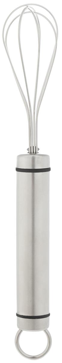 Мини-венчик Tescoma President, длина 21 см638685Венчик Tescoma President имеет 4 проволочные петли из высококачественной нержавеющей стали, обеспечивающих эффективное перемешивание и взбивание ингредиентов. Благодаря небольшому размеру этот венчик удобно использовать в небольших мисках и чашках. Рукоятка изготовлена из высококачественной нержавеющей стали и оснащена металлической петелькой для подвеса. Можно мыть в посудомоечной машине. Длина венчика: 21 см. Размер рабочей поверхности: 6,5 см х 3,5 см.