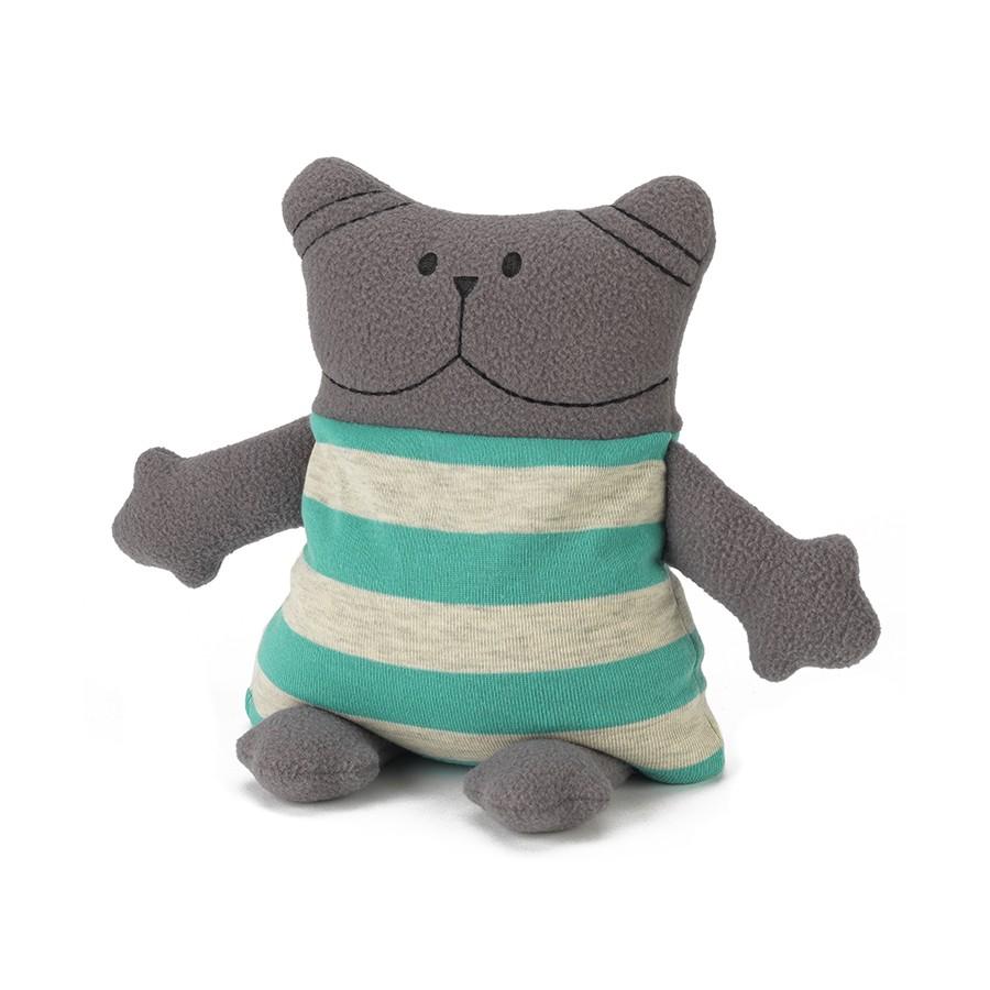 Warmies Крафтовая грелка КотCRA-CAT-1Положите игрушку на 1-2 минуты в микроволновую печь, и она будет греть вас на протяжении 3-4 часов. Игрушки полностью безопасны - состоят из натурального наполнителя: зерен проса и сушеной лаванды. Просо удерживает тепло долгое время, а лаванда обладает успокаивающим, расслабляющим эффектом, помогает заснуть. Лечебные свойства лаванды помогают при простудных заболеваниях. Не стирать - специальный шелковый мех легко очищается влажной тряпкой. Производитель: английская компания Intelex. Товар сертифицирован на территории России, Казахстана и Республики Беларусь.
