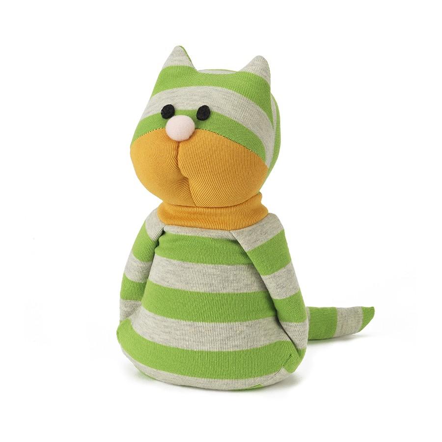 Warmies Игрушка-грелка Кот ДжорджSOC-CAT-2Положите игрушку на 1-2 минуты в микроволновую печь, и она будет греть вас на протяжении 3-4 часов. Игрушки полностью безопасны - состоят из натурального наполнителя: зерен проса и сушеной лаванды. Просо удерживает тепло долгое время, а лаванда обладает успокаивающим, расслабляющим эффектом, помогает заснуть. Лечебные свойства лаванды помогают при простудных заболеваниях. Не стирать - специальный шелковый мех легко очищается влажной тряпкой.