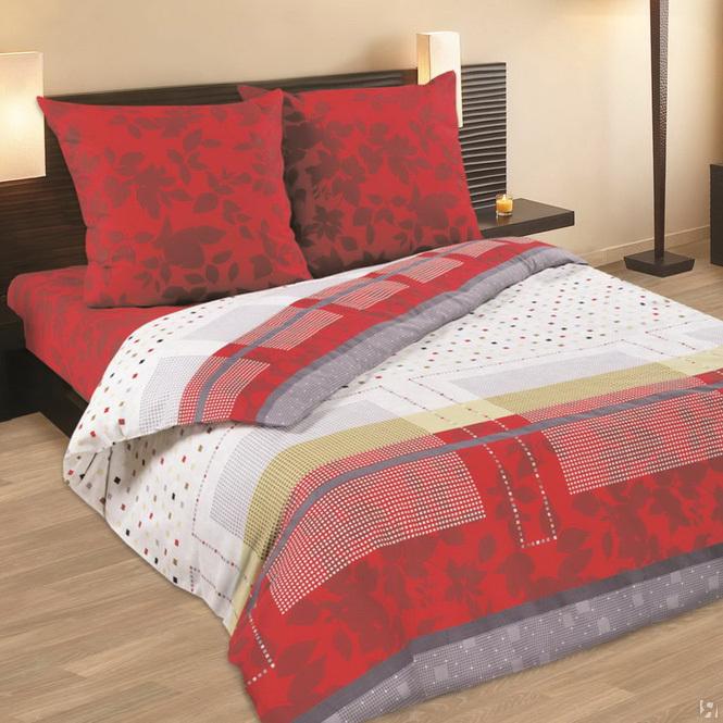 Комплект белья Wenge Selen, 2-спальный, наволочки 70х70, цвет: красный, белый, серый. 232691232691Стильный комплект постельного белья Wenge Selen выполнен из ткани Биокомфорт, произведенной из натурального 100% хлопка. Ткань приятная на ощупь, при этом она прочная, хорошо сохраняет форму и легко гладится. Ткань прекрасно пропускает воздух и за ней легко ухаживать. Комплект состоит из пододеяльника, простыни и двух наволочек, оформленных оригинальным принтом. Благодаря такому комплекту постельного белья вы создадите неповторимую атмосферу в вашей спальне.