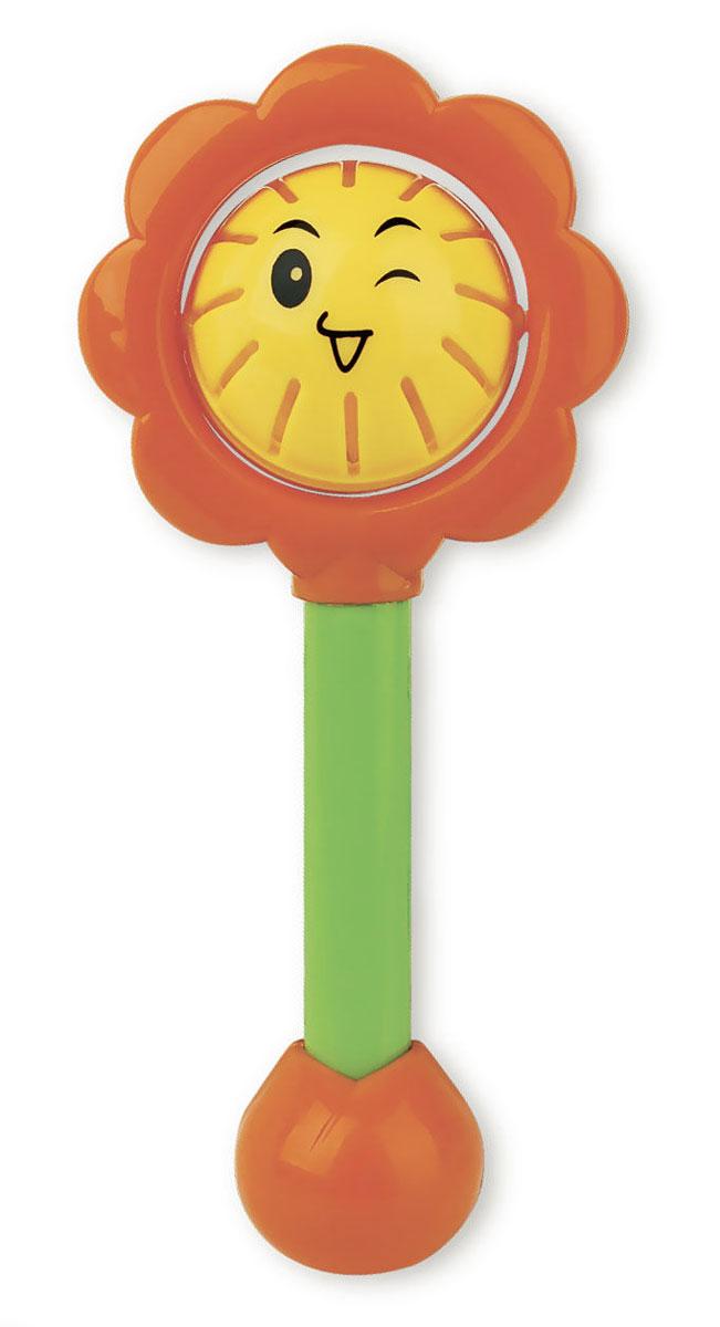 Mioshi Погремушка Mioshi СолнышкоTY9040Игрушка-погремушка Mioshi Солнышко надолго займет внимание вашего малыша. Изготовлена в гармоничной расцветке и из безопасного пластика, эта игрушка создаст очень благоприятное впечатление у ребенка и заинтересует своими звуками. Игрушка развивает цветовое и звуковое восприятие, тактильные ощущения и координацию движений.