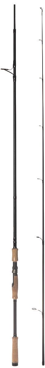Cпиннинг штекерный Atemi Conquest, 2,7 м, 15-60 г, цвет: черный