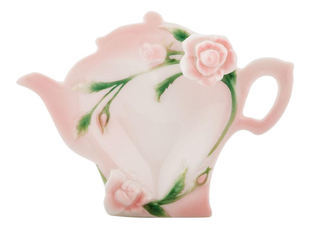Подставка для чайных пакетиков Pavone Роза, 12 см х 9 см