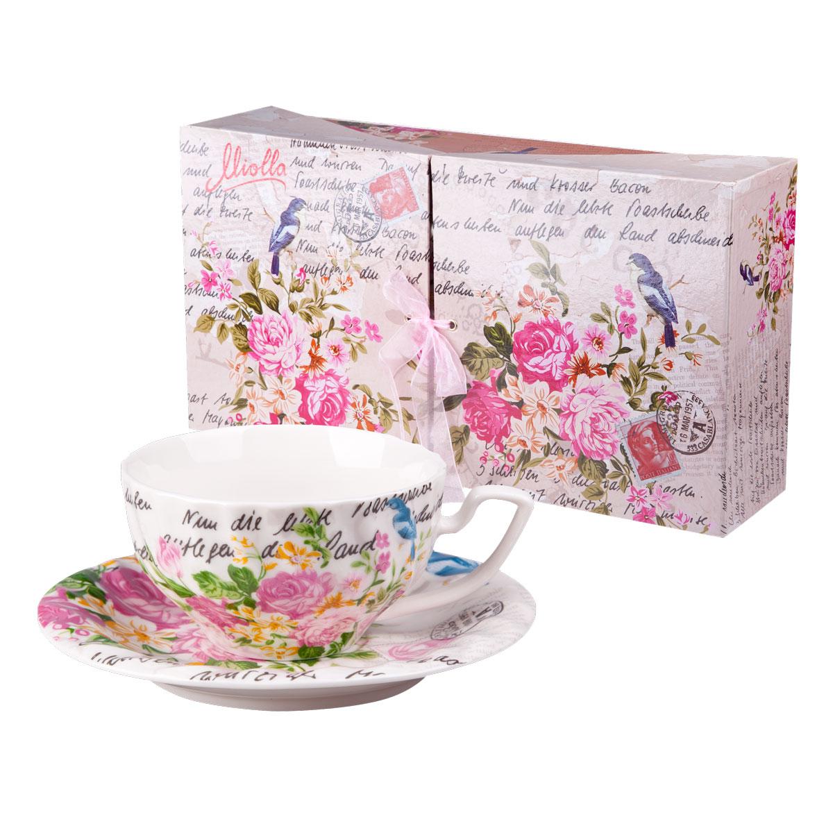 Набор для чая РОЗАЛИЯ, 12 предметов (чашка 220 мл 6 шт, блюдце 6 шт.)WT121006-220LW6Выбор подарка – непростая задача для многих.Набор для чая - не просто подарок, но и гарантия хорошего настроения.