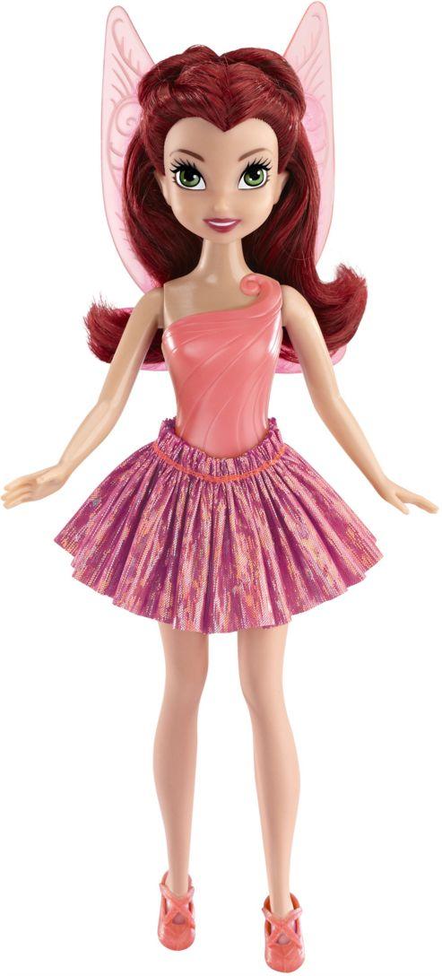 Disney Fairies Кукла Sparkle Ballet Rosetta688500_RosettaКукла Disney Fairies Sparkle Ballet Rosetta поможет вашей малышке окунуться в сказочный мир. Куколка выполнена в виде феечки Сильвермист из мультфильма Феи. Фея одета в красивый наряд балерины - пышная сверкающая пачка, изящный купальник и красивые балетки. Вашей дочурке непременно понравится расчесывать и заплетать густые бордовые волосы феи. За спиной у Розетты - полупрозрачные розовые крылышки. Ручки, ножки и голова куколки подвижны. Ваша малышка с удовольствием будет играть с этой куколкой, проигрывая сюжеты из мультфильма или придумывая различные истории.