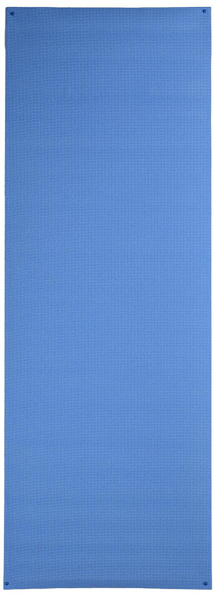 Коврик для йоги Ironmaster, цвет: синий, 173 см х 61 см х 0,6 смIR97501_blueКлассический коврик для йоги Ironmaster, выполненный из ПВХ, имеет нескользящую поверхность, благодаря чему ваши занятия безопасны и эффективны. Коврик легкий и просто сворачивается, его удобно транспортировать и хранить. Где бы вы ни занимались, коврик всегда можно взять с собой. С ковриком вы будете эффективно заниматься и с легкостью приведете себя в форму.