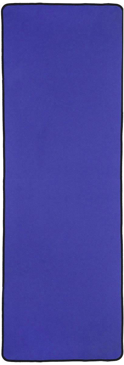 "Ironmaster Коврик для фитнеса ""Ironmaster"", цвет: синий, 180 см х 60 см х 0,6 см"