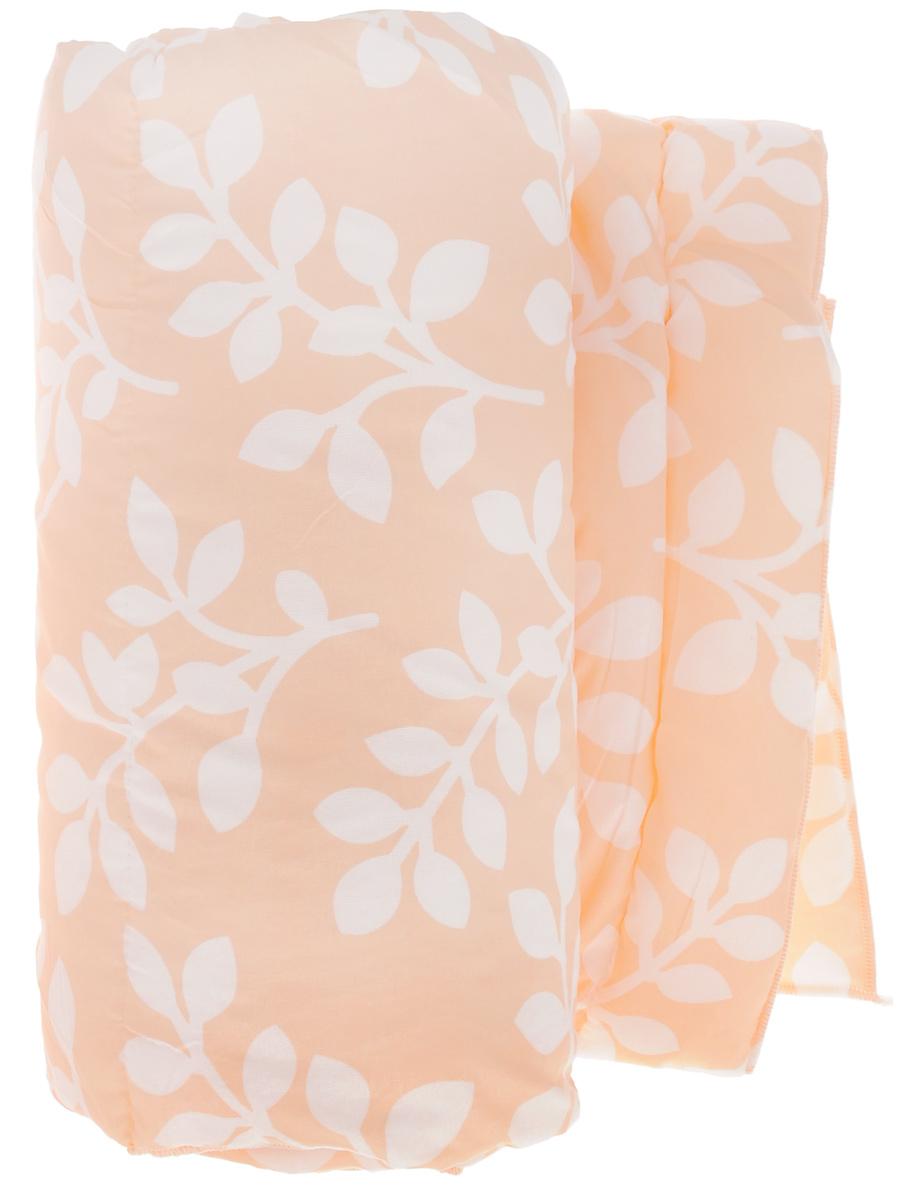 Одеяло Sleeper Дили, наполнитель: силиконизированное волокно, цвет: оранжевый, белый, 140 х 200 см22(13)323_оранжевыйОдеяло Sleeper Дили подарит уютный и комфортный сон. Чехол одеяла выполнен из микрофибры, наполнитель - силиконизированное волокно. Изделие с синтетическим наполнителем: - не вызывает аллергических реакций; - воздухопроницаемо; - не впитывает запахи; - имеет удобную форму. Рекомендации по уходу: - Стирка при температуре не более 40°С. - Запрещается отбеливать, гладить. Материал чехла: микрофибра (100% полиэстер). Наполнитель: силиконизированное волокно. Масса наполнителя: 0,40 кг.