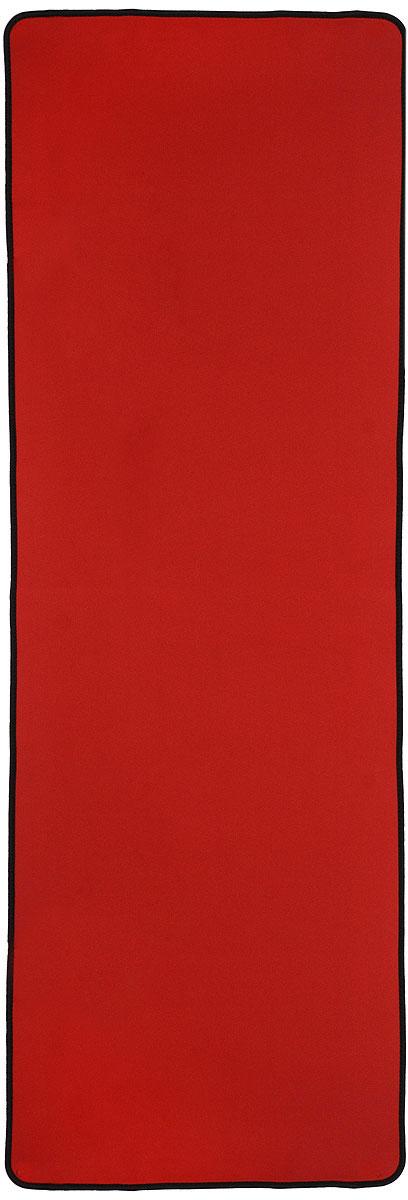 Коврик для фитнеса Ironmaster, цвет: красный, 180 см х 60 см х 0,6 смIR97510_redЛегкий коврик Ironmaster для занятий йогой изготовлен из высококачественного вспененного полимера. Коврик обеспечивает теплоизоляцию при контакте с любой поверхностью. Изделие оснащено эластичными фиксирующими лямками. Коврик легок в переноске и мягок в практике, компактен.
