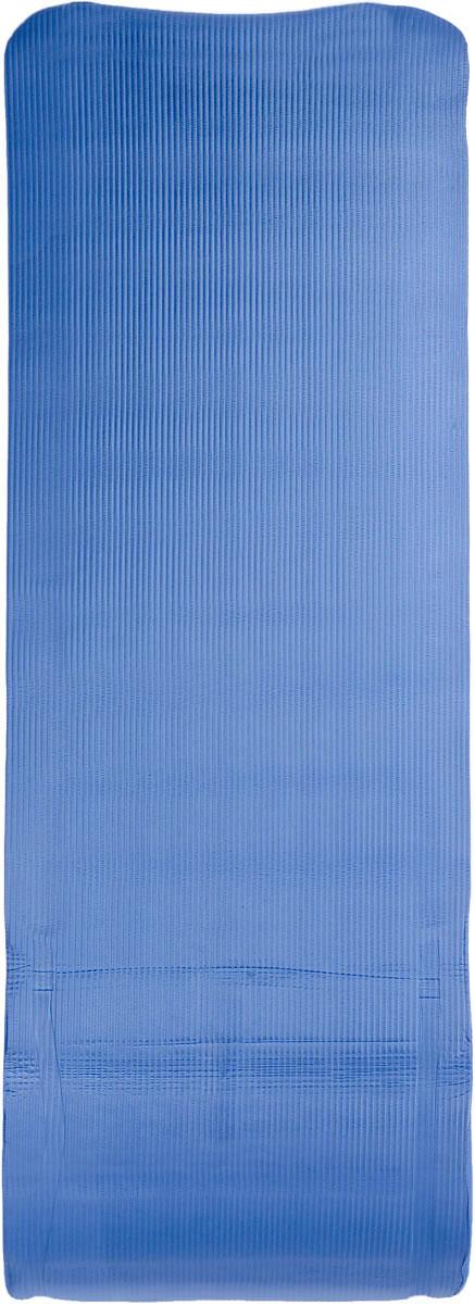 "Ironmaster Коврик для фитнеса ""Ironmaster"", цвет: синий, 180 см х 60 см х 1,2 см"