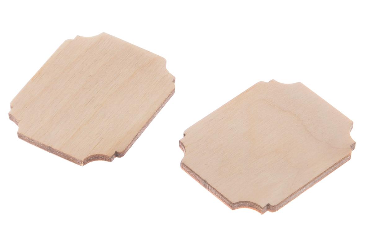 Деревянная заготовка Астра Шильд, 3,5 х 4 х 0,3 см, 2 шт549542Заготовка Астра Шильд, изготовленная из дерева, станет хорошей основой для вашего творчества. Заготовку можно украсить бисером, блестками, тесьмой, кружевом - возможности не ограничены. Творческий процесс развивает воображение, учит видеть сказку в обыденных вещах, ведь для нее всегда есть место в нашей жизни! Заготовка Астра Шильд станет идеальным украшением интерьера вашего дома и отличным подарком для вас и ваших близких. В комплекте 2 заготовки. Размер одной заготовки: 3,5 см х 4 см х 0,3 см.