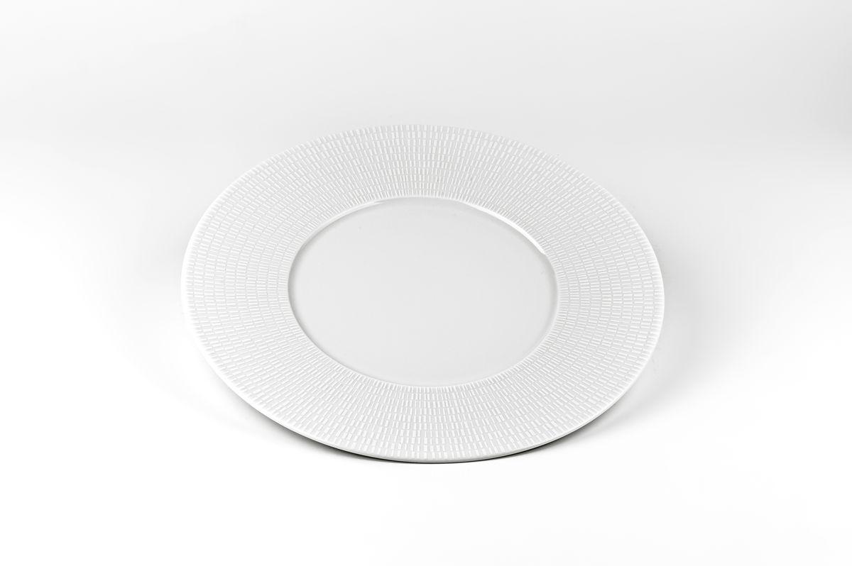 Zen Asymetrie Blanc 2161, набор тарелок 23 см (6шт), цвет: белый839001 2161В наборе тарелка 23 см 6 штук