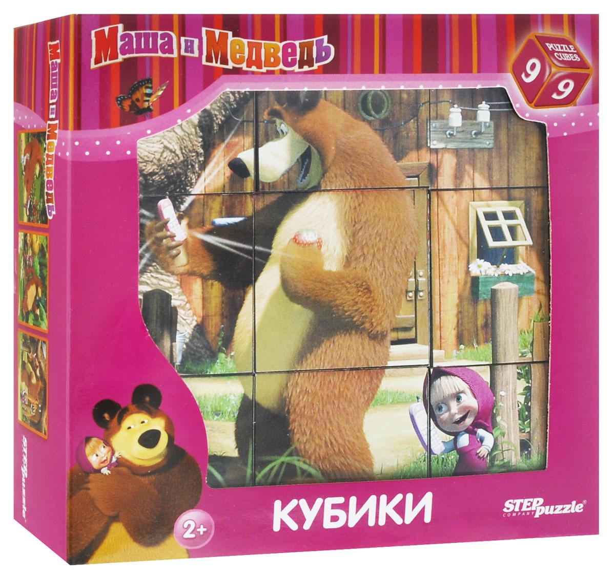 Step Puzzle Кубики Маша и Медведь87133С помощью девяти кубиков Step Puzzle Маша и Медведь ребенок сможет великолепную картинку с изображением героев из одноименного мультфильма. Игра с кубиками развивает зрительное восприятие, наблюдательность и внимание, мелкую моторику рук и произвольные движения. Ребенок научится складывать целостный образ из частей, определять недостающие детали изображения. Это прекрасный комплект для развлечения и времяпрепровождения с пользой для малыша.