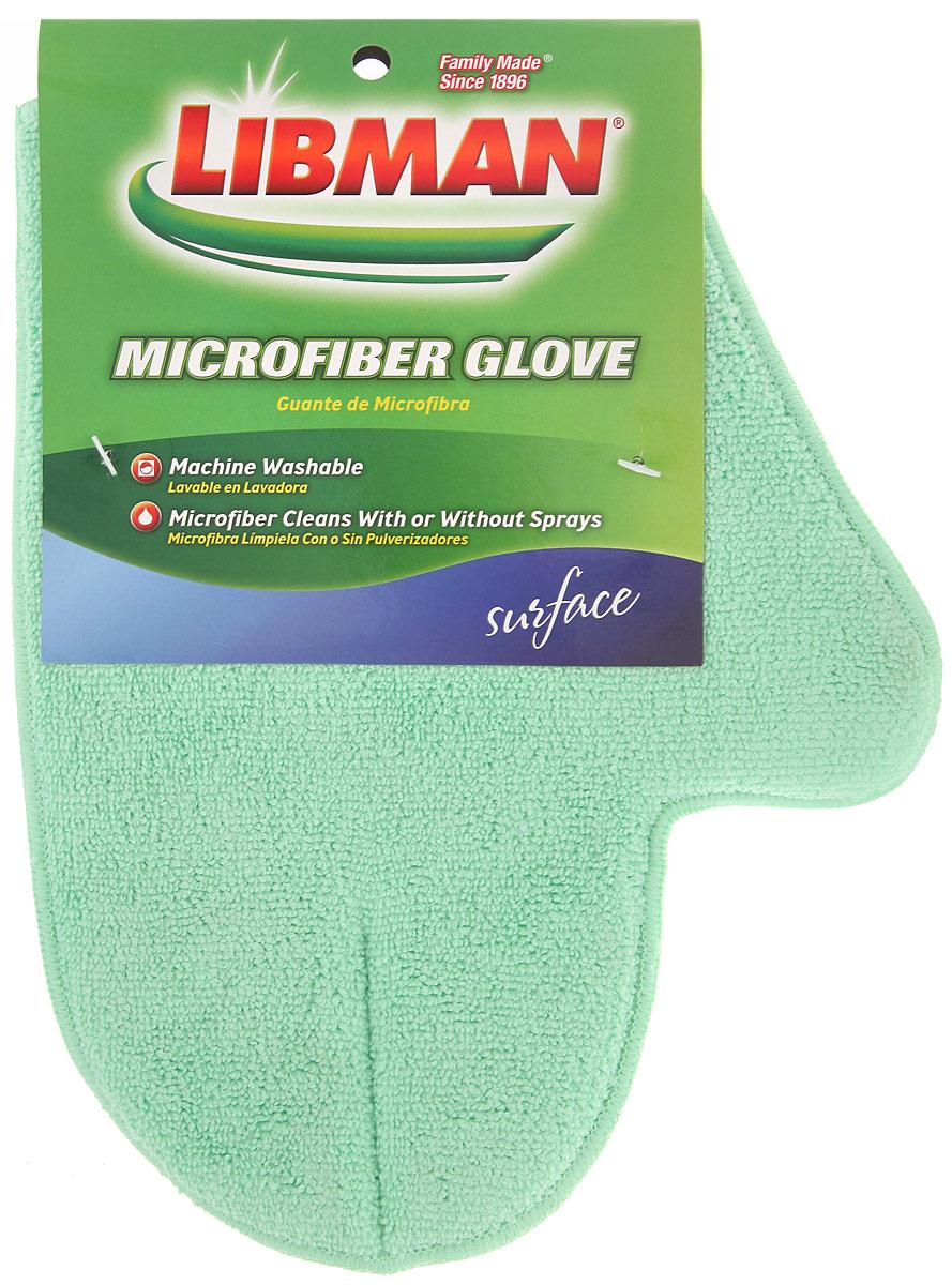 Варежка Libman для сухой и влажной уборки, цвет: салатовый.00154_салатовыйВарежка Libman, изготовленная из микрофибры (полиэстера, полиамида), легко удаляет пыль, деликатно моет поверхности, мягко удаляет сильные загрязнения. Применяется как в сухом, так и во влажном виде. Варежка удобно держится на руке и великолепно впитывает воду.