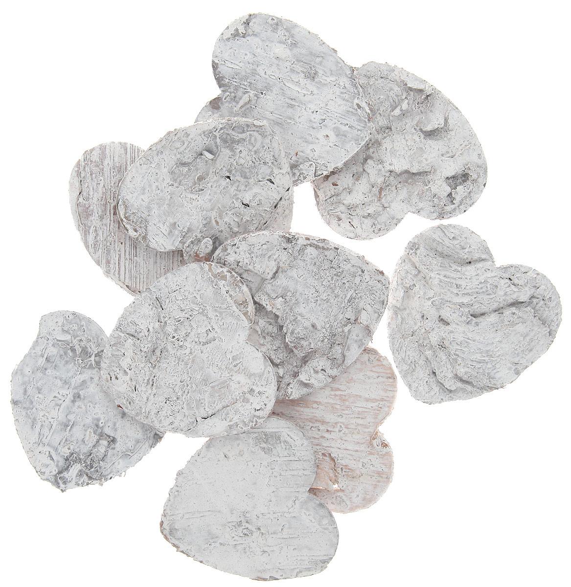 Декоративный элемент Dongjiang Art Сердце, цвет: белый, 10 шт7709004_белыйДекоративный элемент Dongjiang Art Сердце, изготовленный из натуральной коры дерева, предназначен для украшения цветочных композиций. Изделие можно также использовать в технике скрапбукинг и многом другом. Флористика - вид декоративно-прикладного искусства, который использует живые, засушенные или консервированные природные материалы для создания флористических работ. Это целый мир, в котором есть место и строгому математическому расчету, и вдохновению. Размер одного элемента: 5 см х 5 см.
