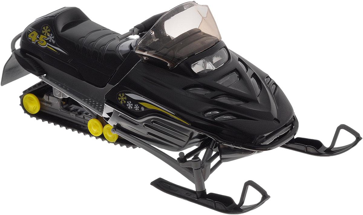 Dickie Toys Снегоход цвет черный3315424Замечательный снегоход Dickie понравится всем любителям необычного транспорта. Выполнен он из прочных и безопасных материалов. Капот снегохода открывается, мощные лыжи имеют поворотный механизм. С ним можно играть как на скользкой, так и на обычной поверхности. Игрушка выглядит очень реалистично и представляет собой настоящий снегоход в миниатюре. Имеется прозрачное ветровое стекло и украшения на бортах. Ваш ребенок будет часами играть с этой игрушкой, придумывая различные истории.