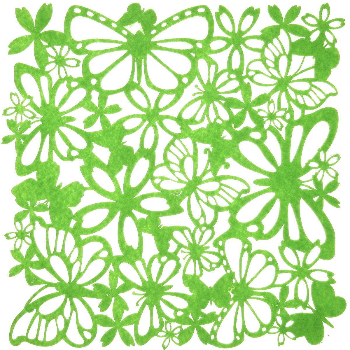 Салфетка Home Queen Взмах крыльев, цвет: зеленый, 30 х 30 см66841_салатовыйКвадратная салфетка Home Queen Взмах крыльев изготовлена из фетра и оформлена изысканной перфорацией в виде цветочных узоров и бабочек. Такая салфетка прекрасно подойдет для украшения интерьера кухни, она сбережет стол от высоких температур и грязи.