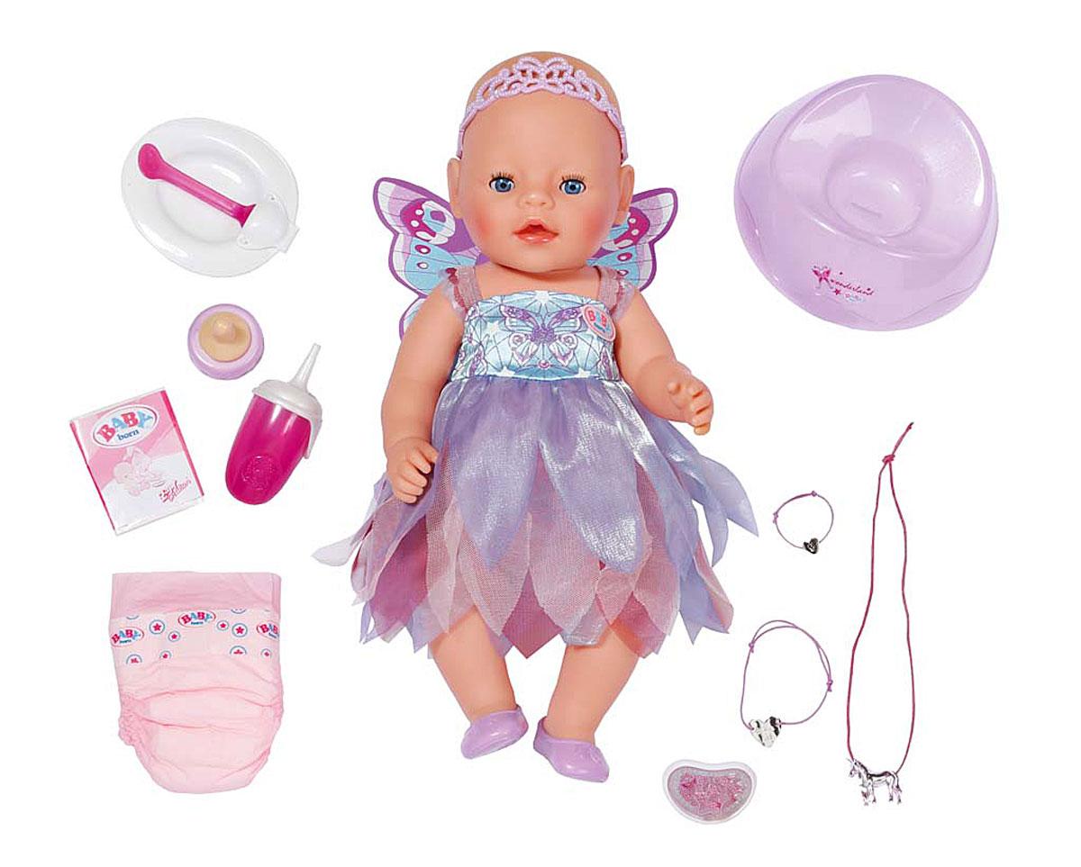 Baby Born Игровой набор с куклой Фея
