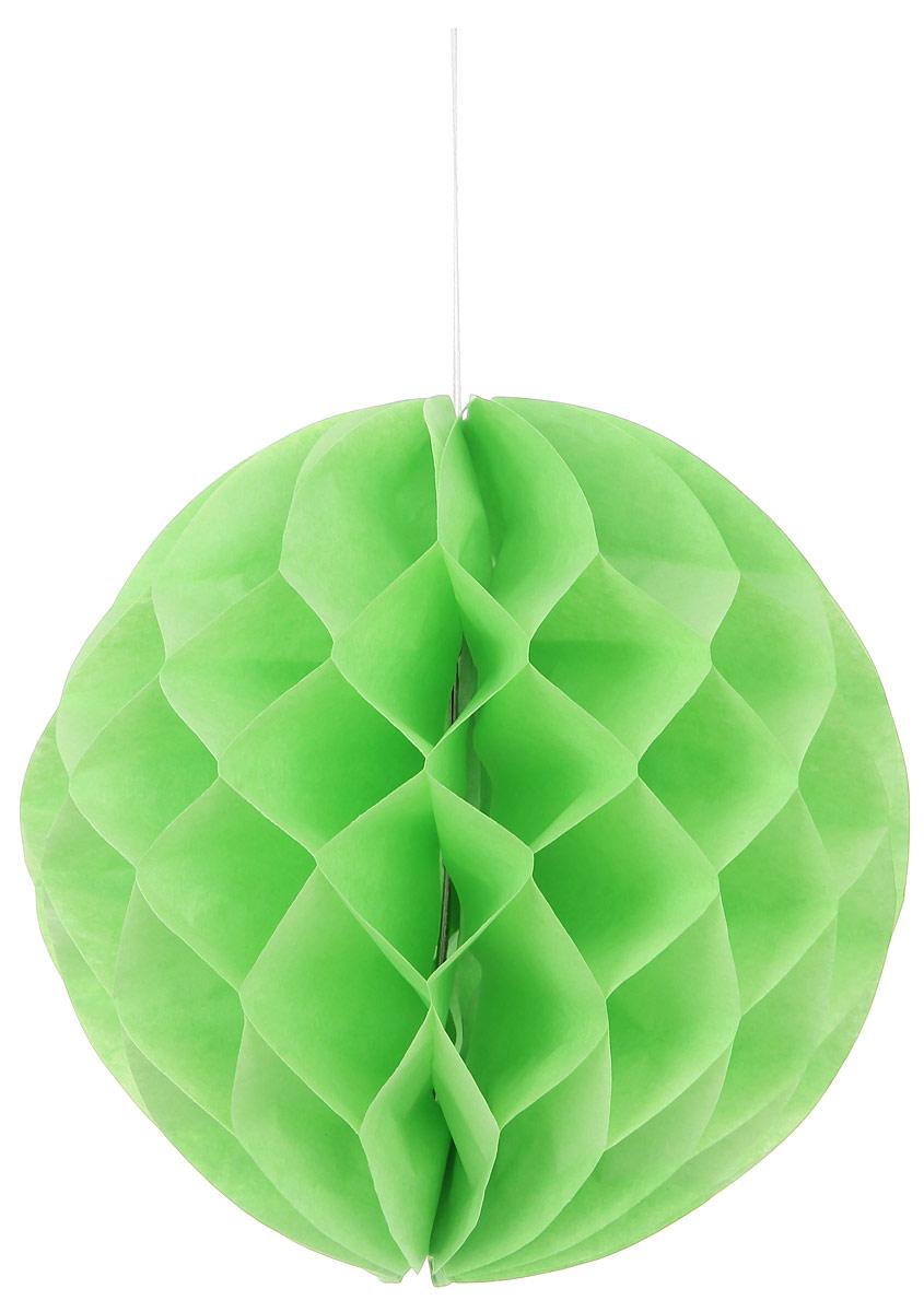 Новогоднее подвесное украшение Lunten Ranta Шар, цвет: зеленый, диаметр 25 см69455_2Декоративное подвесное украшение Lunten Ranta Шар оригинально оформит интерьер вашего дома. Изделие представляет собой красивый объемный шар, выполненный из бумаги. Легко собирается и скрепляется с помощью двустороннего скотча. Имеется петелька для подвешивания. Создайте в своем доме атмосферу веселья и радости, украшая его всей семьей новогодними украшениями, которые будут из года в год накапливать теплоту воспоминаний.