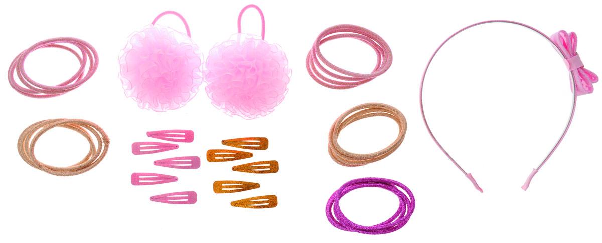 Caramella Набор аксессуаров для волос Бантик 33 предмета