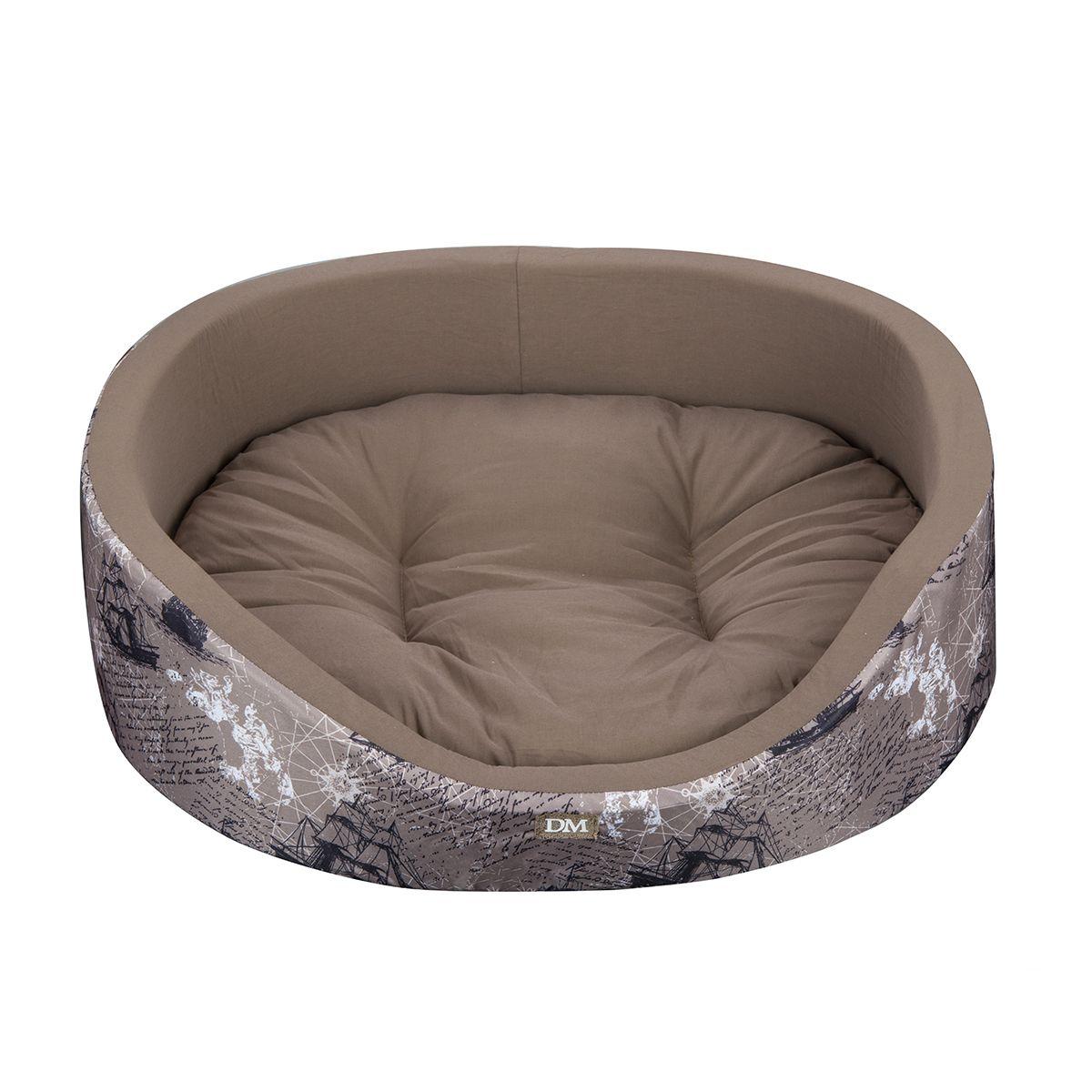 Лежак Dogmoda Парус 57*44*15 смDM-150301-3Стильный лежак для животных с интересным рисунком - для пушетественников и мечтателей.